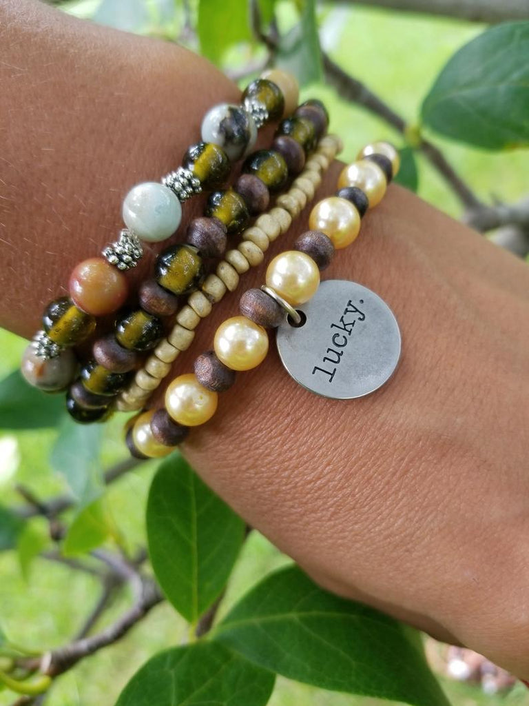 Lucky in Love Bracelet Stack One-of-a-Kind