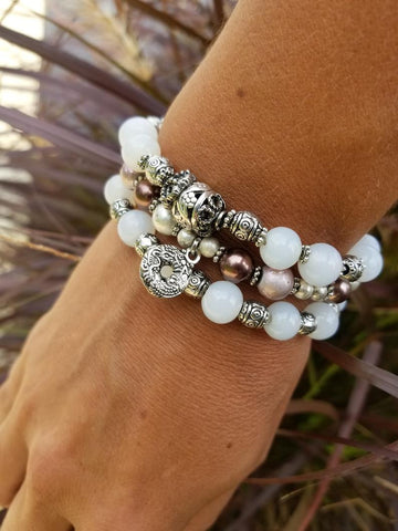 Polka Dot Party Bracelet Stack