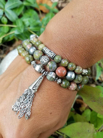 Tea Leaves Bracelet Stack