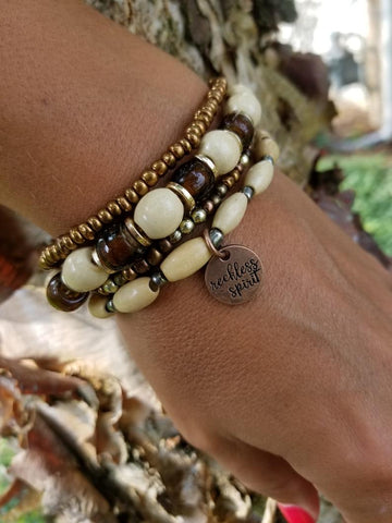 Toffee Crunch Bracelet Stack