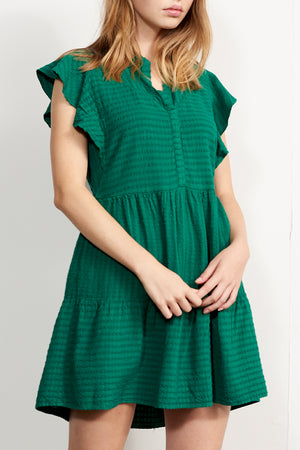 Relaxed Tiered Dress