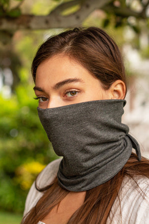 Tie Back Scarf Mask
