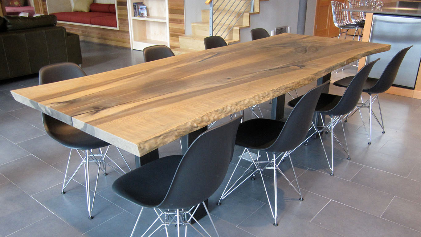 Meyer Wells Custom Wood Slab Tables