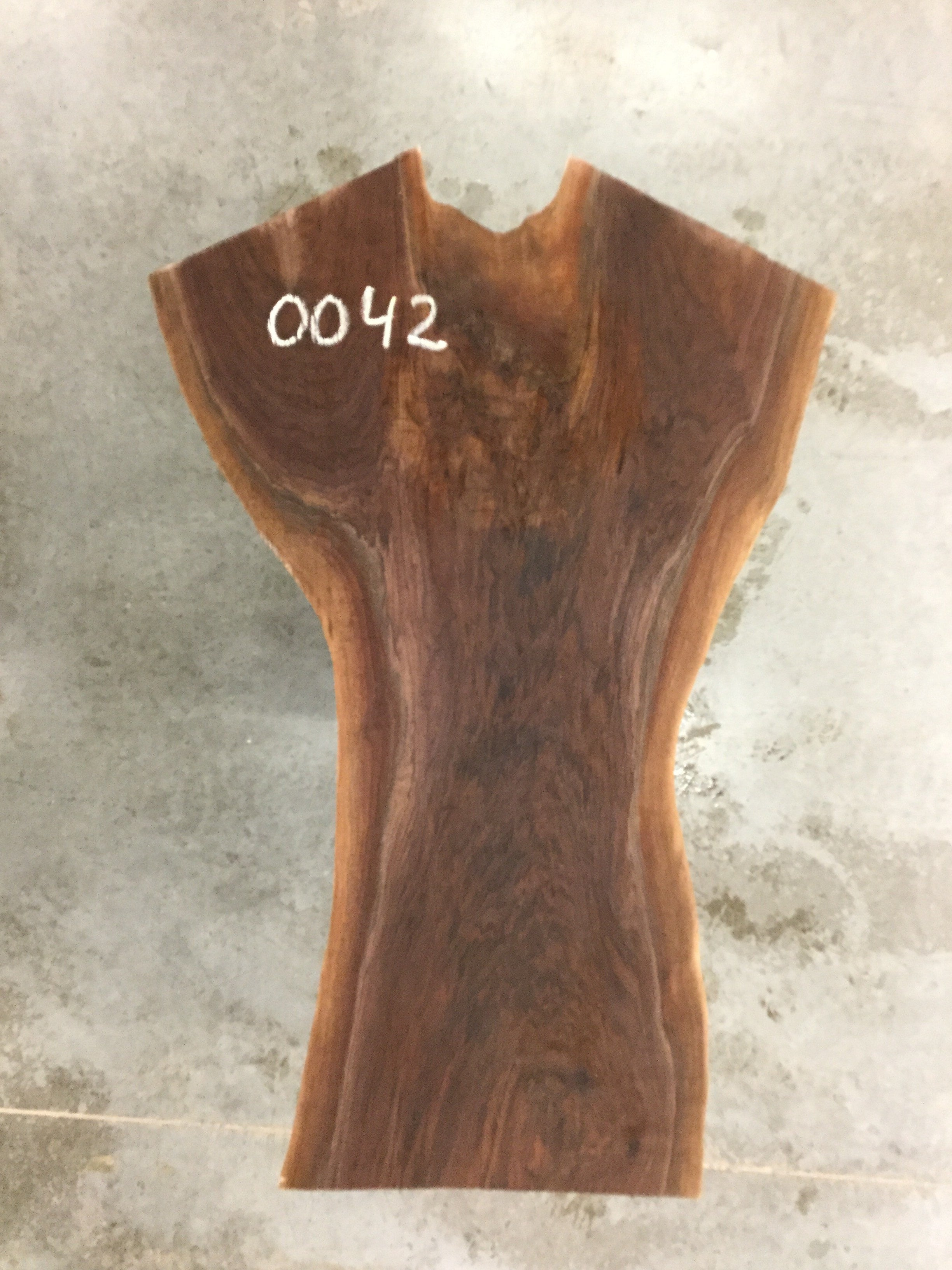 "0042 - Walnut - 65""L x 42""W - Meyer Wells"