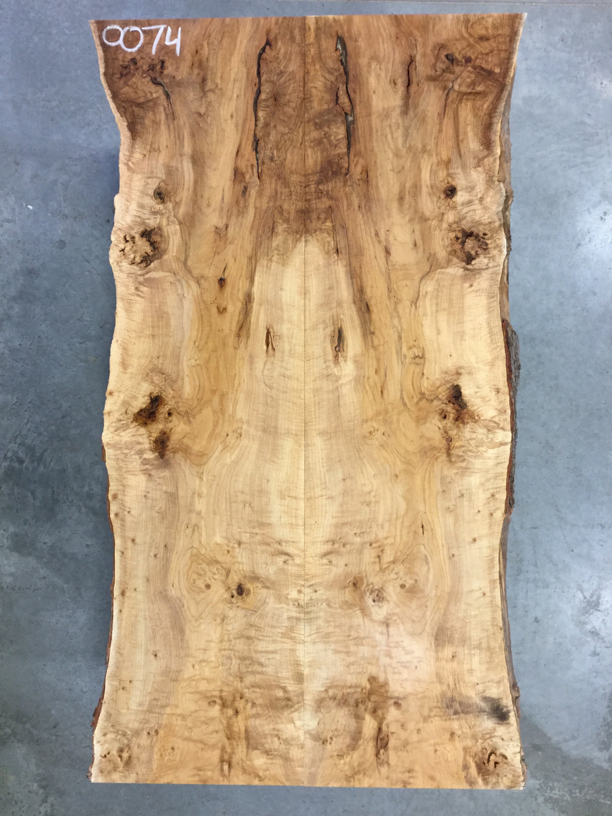 "SOLD - 4-13-18 - 0074 - Silver Maple - 102.25""L x 59""W - Meyer Wells"
