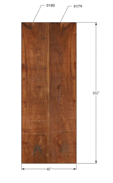 "0179180 - Red Elm - 102""L x 40""W - Meyer Wells"