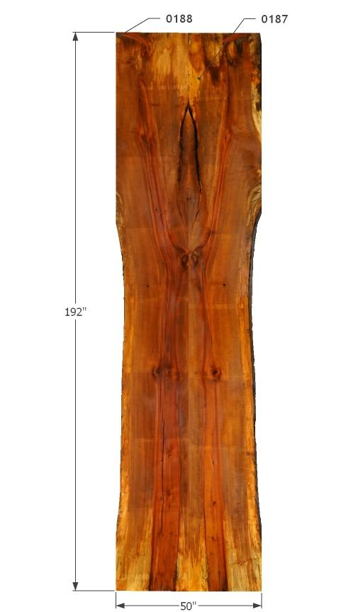 "0187188 - Madrone - 192""L x 50""W - Meyer Wells"