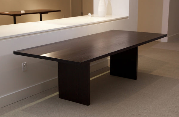 "Ash Dining Table - 96""L x 42""W x 29""H - P004 - Meyer Wells"