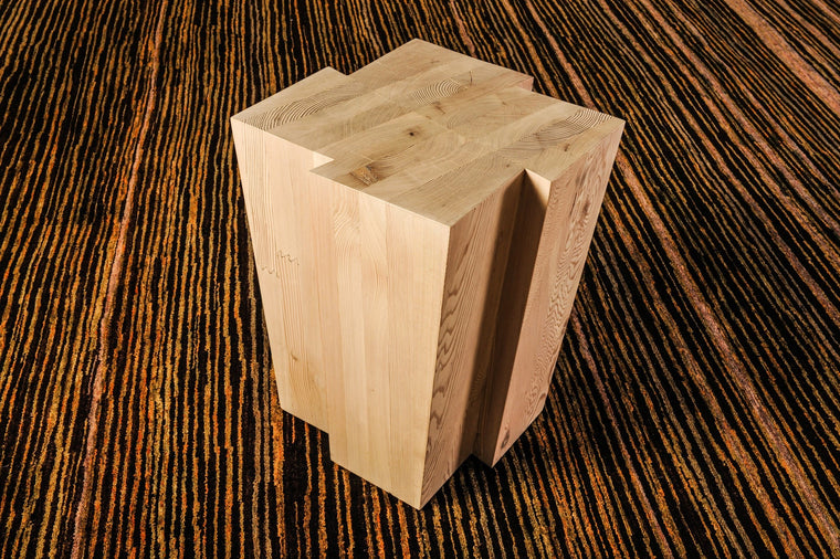Fir Glulam Side Block Table - 17