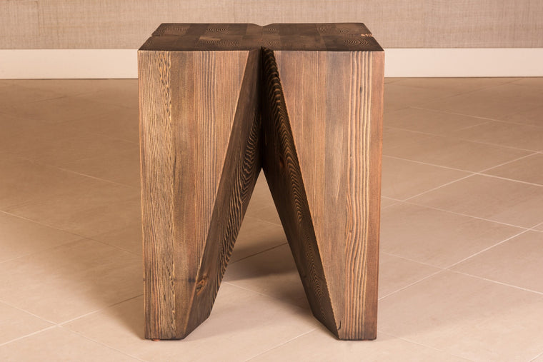 Fir Glulam Side Table - 18
