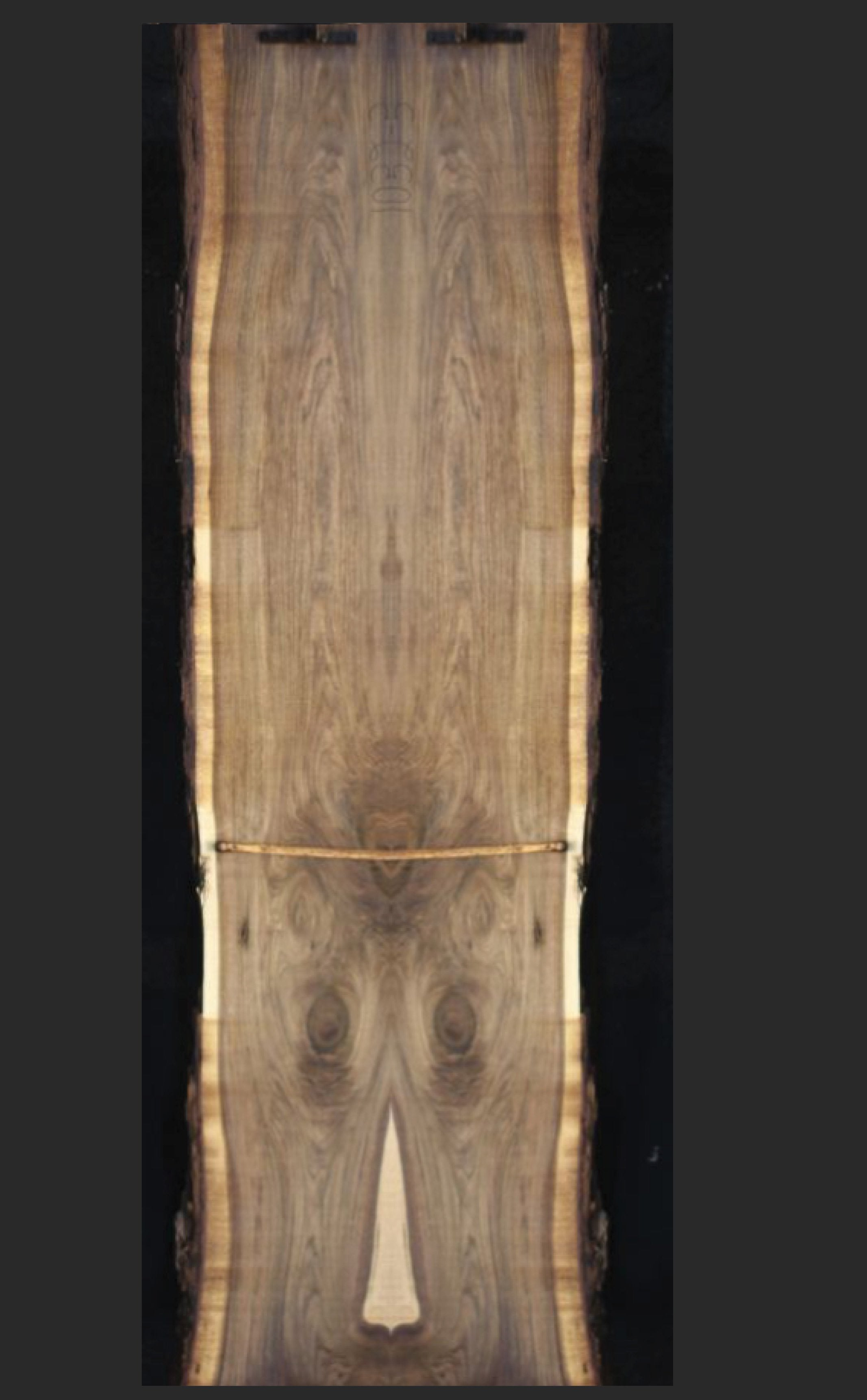 "WV0017 - Walnut - 168""L x 40""W"