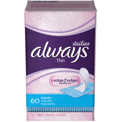 Always Dailies Panty Liners, One Month Supply (Choose Your Fit) - BroadBox