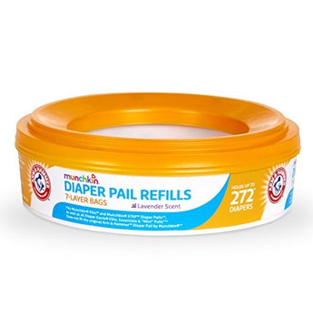 Munchkin Arm & Hammer Diaper Pail Refill Bags (Single Pack) - BroadBox