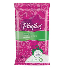 Playtex Personal Wipes, One Month Supply (16 Count) - BroadBox