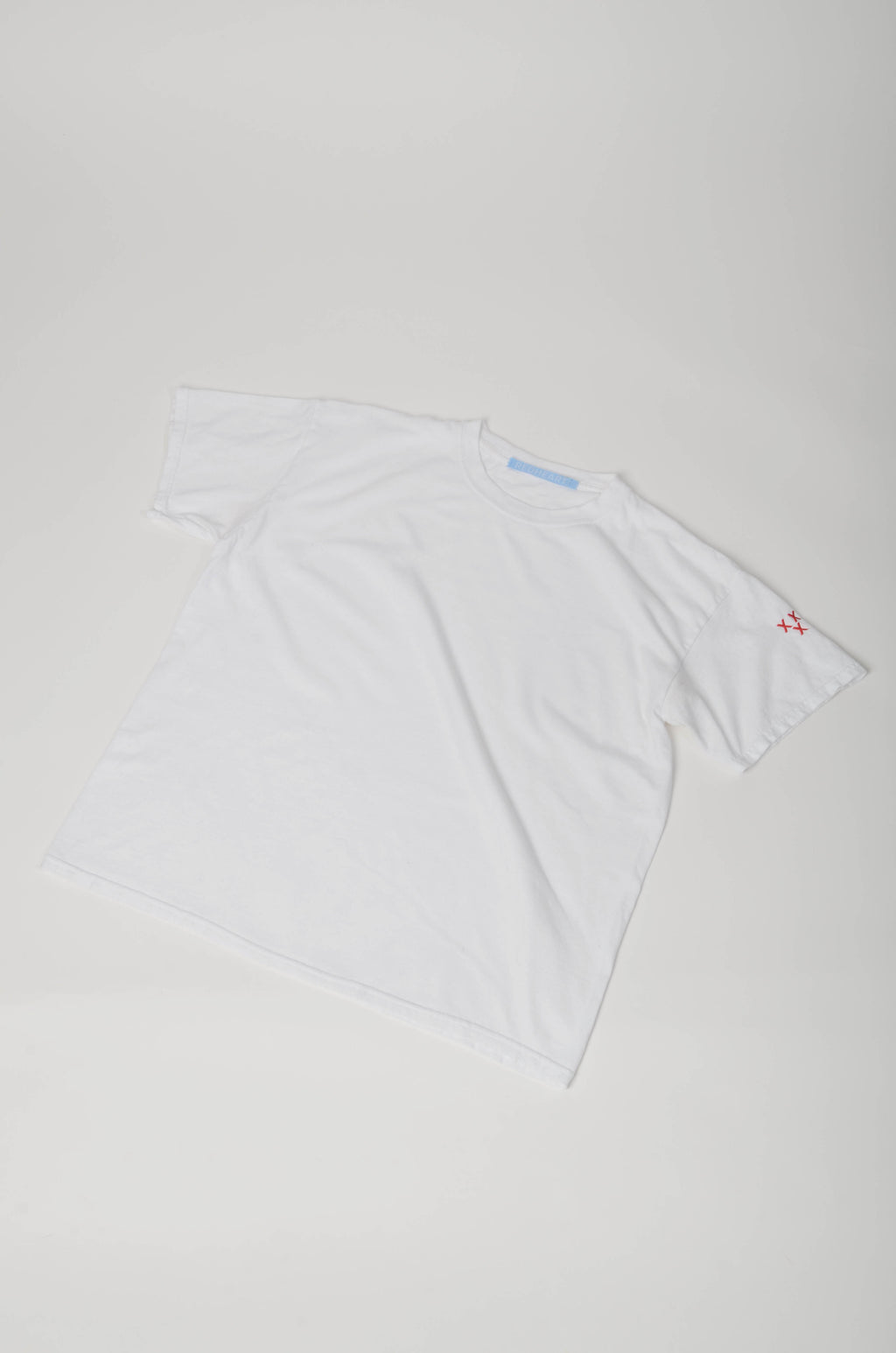 Embroidered Three Crosses T-Shirt (Sleeve)