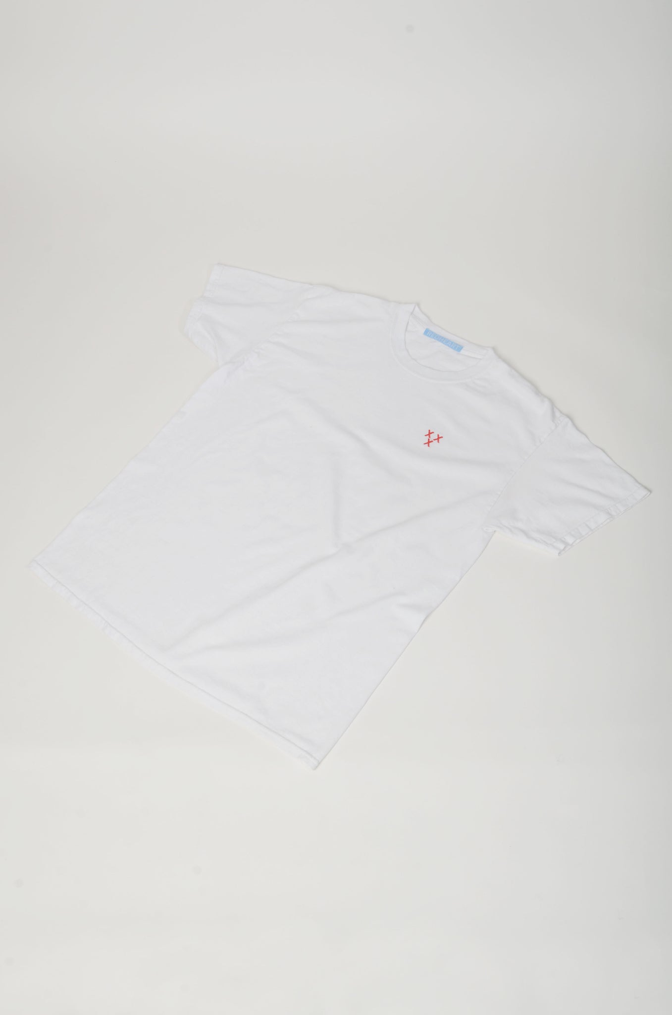 Embroidered Three Crosses T-Shirt (Breast)