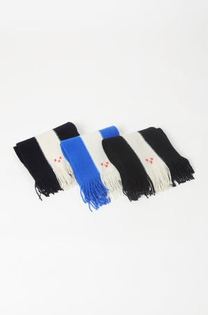 Three-Band Collegiate Scarf