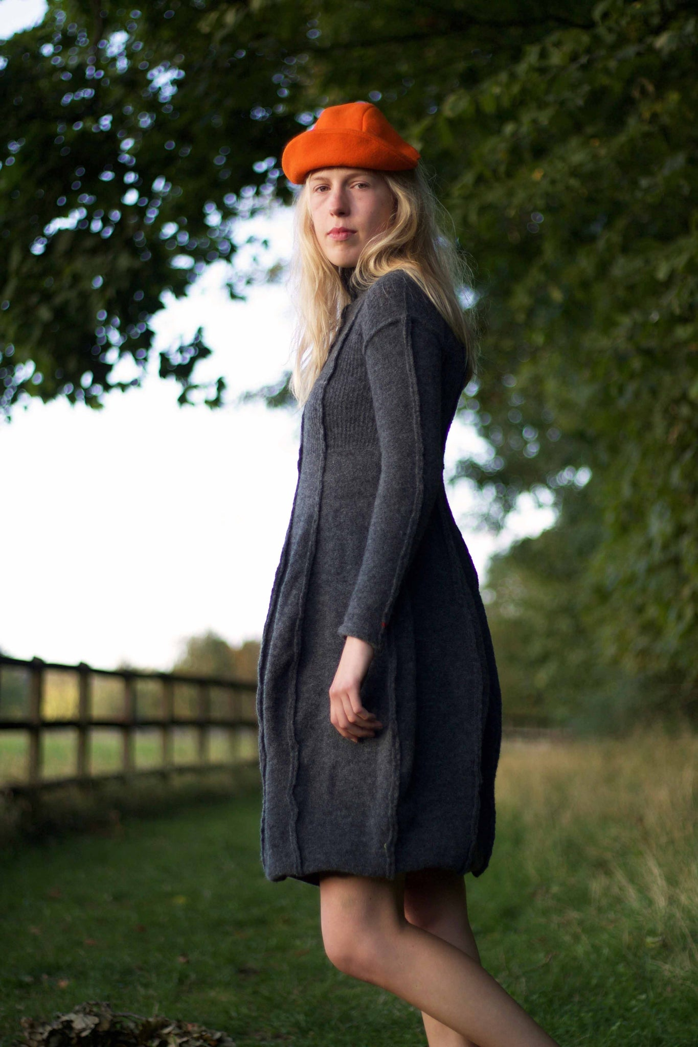 Ribbed Yak Excursion Dress