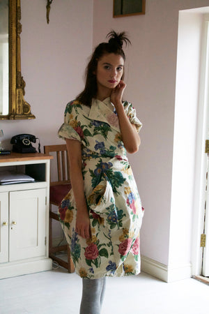 Floral Point Dress
