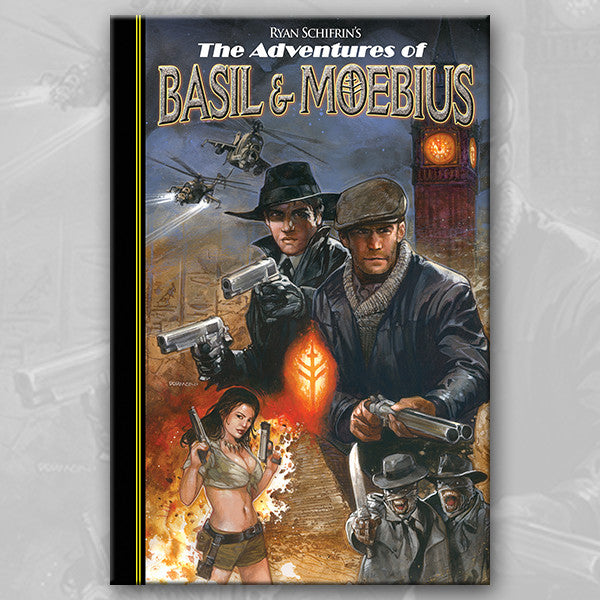 THE ADVENTURES OF BASIL & MOEBIUS v.1