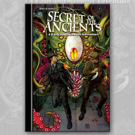 THE ADVENTURES OF BASIL & MOEBIUS 3: Secret of the Ancients, by Ryan Schifrin and Larry Hama