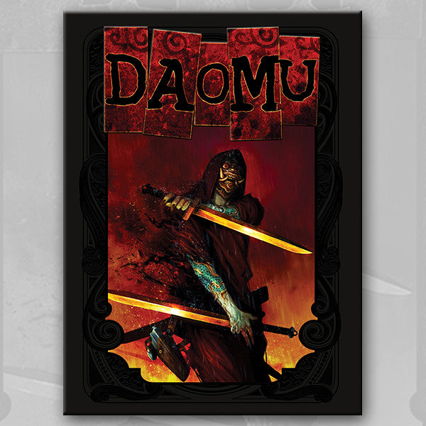 DAOMU, by Kennedy Xu and Ken Chou w/ Art Print set