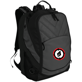 Embroidered Logo Laptop Computer Backpack