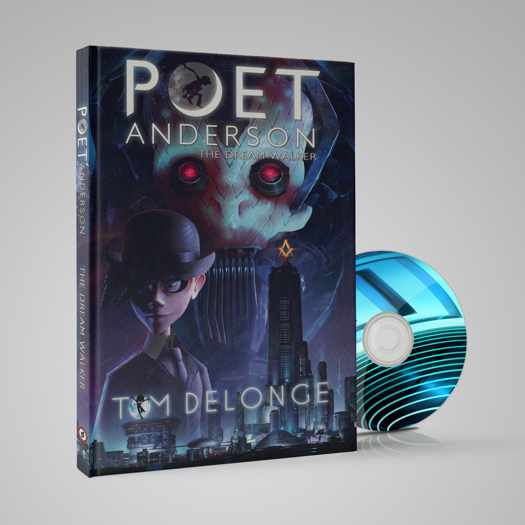 POET ANDERSON - COLLECTED HARDCOVER ART BOOK