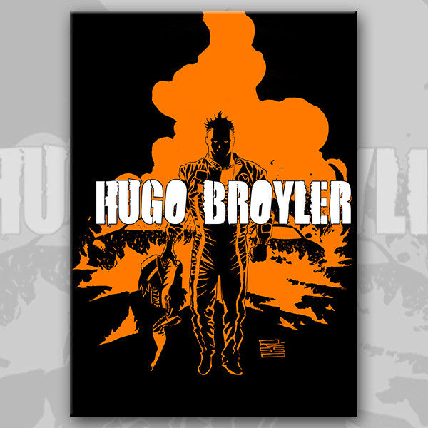 HUGO BROYLER graphic novel/RPG game