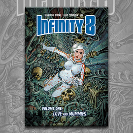 INFINITY 8 vol. 1: LOVE AND MUMMIES, by Lewis Trondheim, Zep, and Dominique Bertail