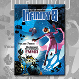 INFINITY 8 vol. 3: THE GOSPEL ACCORDING TO EMMA, by Trondheim, Vehlmann, and Balez