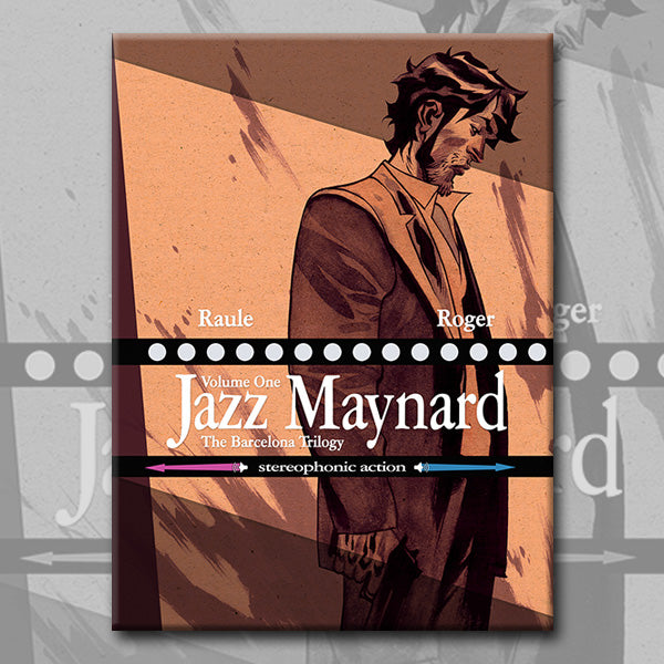 JAZZ MAYNARD vol.1: THE BARCELONA TRILOGY, by Roger and Raule