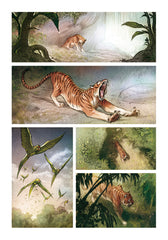 LOVE: THE TIGER, by Brremaud and Bertolucci w/ Art Print