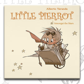 LITTLE PIERROT vol.2 AMONGST THE STARS, by Alberto Veranda