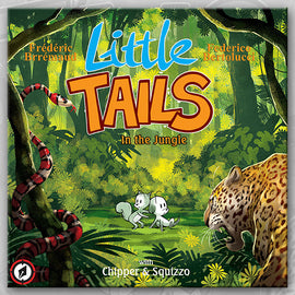 LITTLE TAILS IN THE JUNGLE, by Brrémaud & Bertolucci