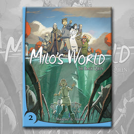 MILO'S WORLD BOOK 2, by Richard Marazano and Christophe Ferreira