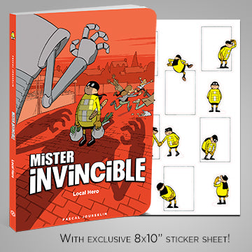 MISTER INVINCIBLE, by Pascal Jousselin