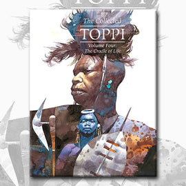 THE COLLECTED TOPPI vol. 4: THE CRADLE OF LIFE by Sergio Toppi (pre-order)