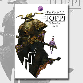 THE COLLECTED TOPPI vol. 6: JAPAN by Sergio Toppi (pre-order)