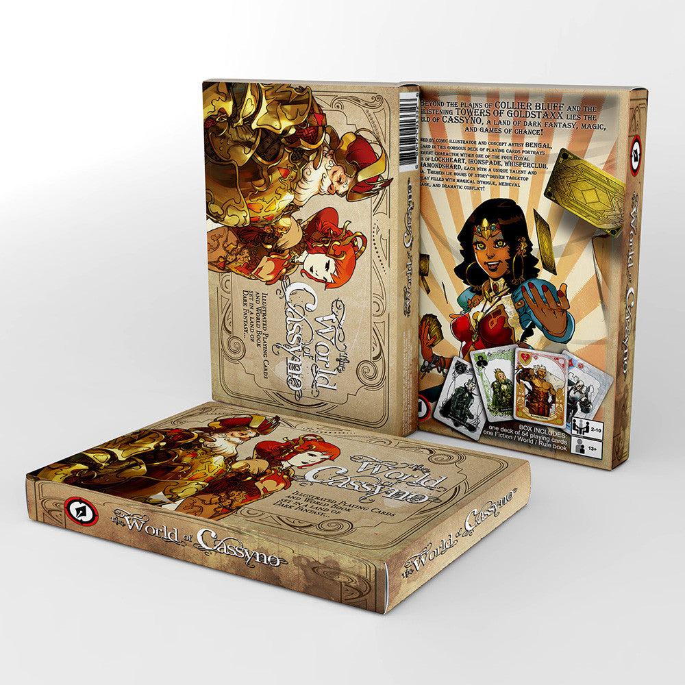 THE WORLD OF CASSYNO Game Box Set