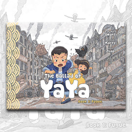 THE BALLAD OF YAYA Book 1, by Patrick Marty, Jean-Marie Omont, and Golo Zhao