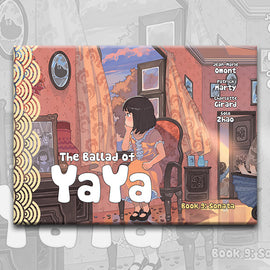 THE BALLAD OF YAYA Book 9, by Patrick Marty, Jean-Marie Omont, and Golo Zhao