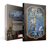 RISE OF THE ZELPHIRE BOOK 1, by Karim Friha