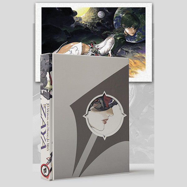 ZAYA, by JD Morvan and Huang-Jia Wei (Limited Edition slipcase bundle)