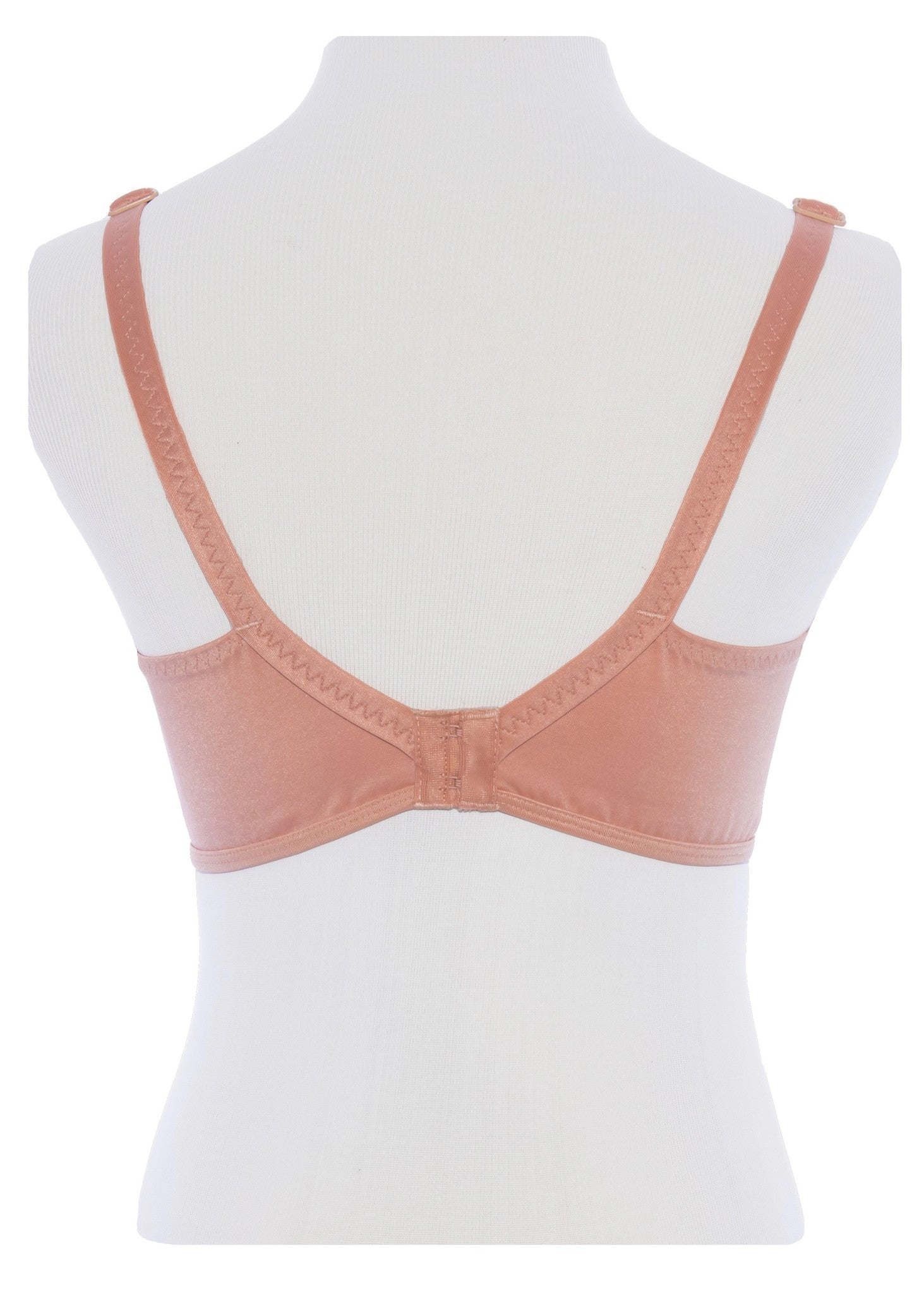 Back Closure Bra Mesh Expandable Cup