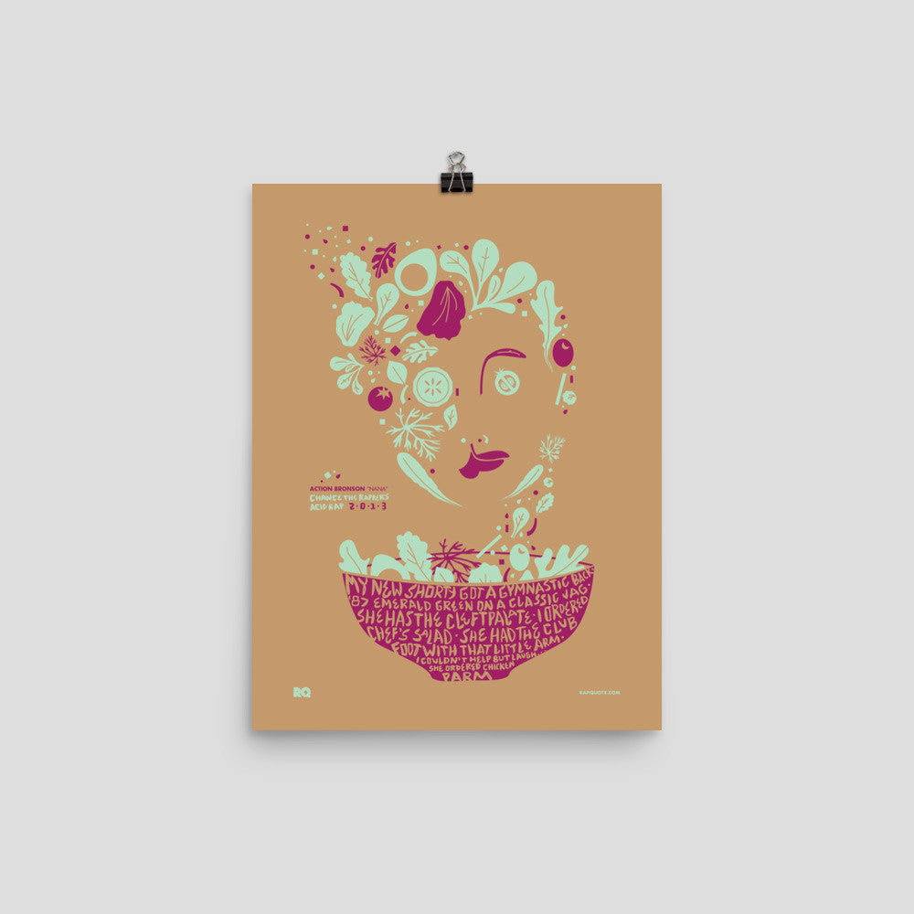 Chef's Salad • Art Print