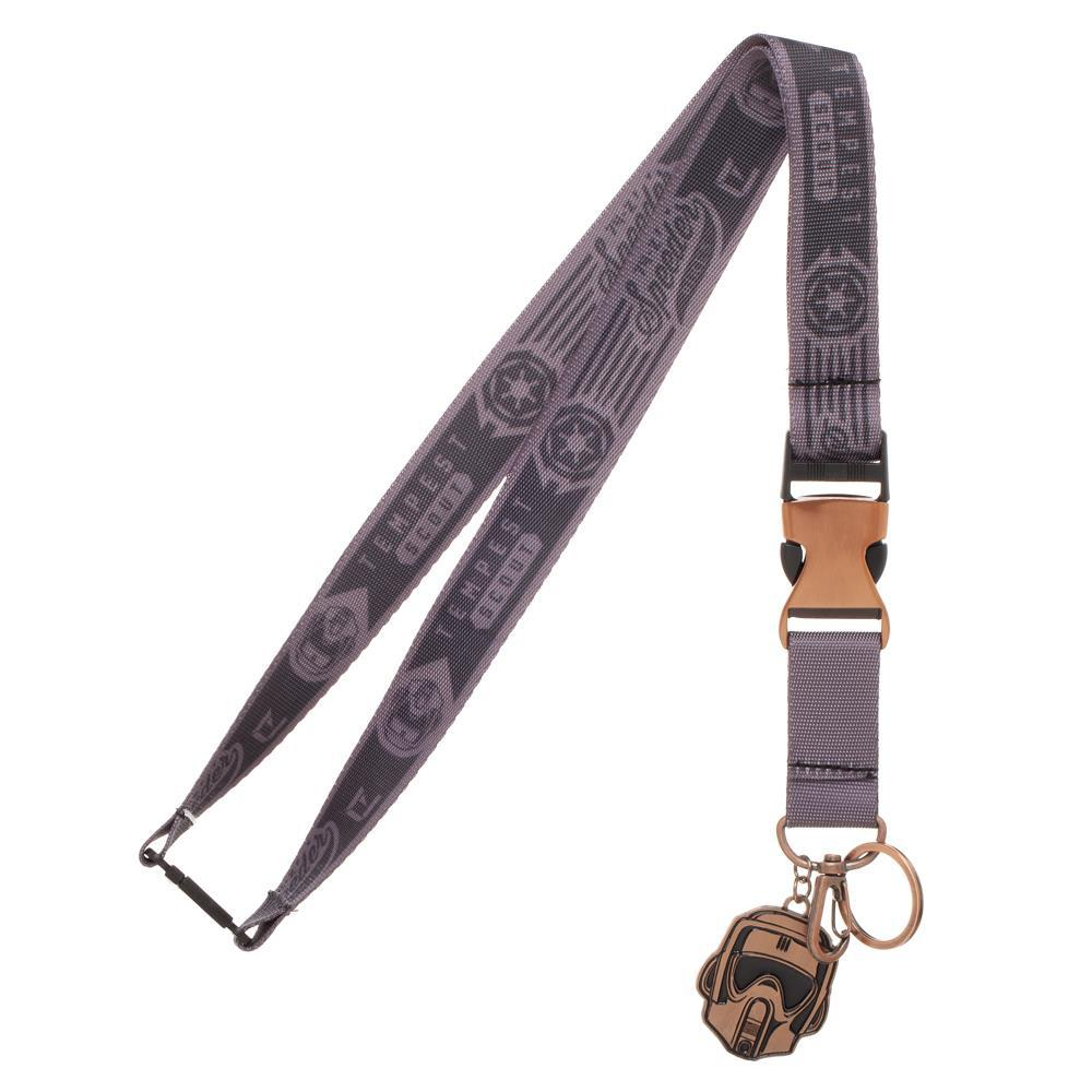 Star Wars Endor Commando Wide Strap Lanyard With ID Badge Holder