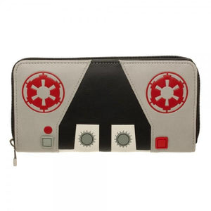 Star Wars AT-AT Driver Zip Around Wallet - Queen Bee Dezinz