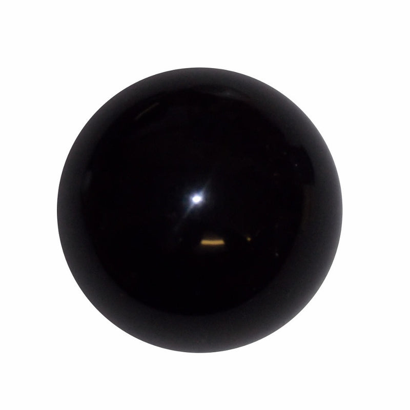 "1-3/4"" Solid Black Shift Knob"