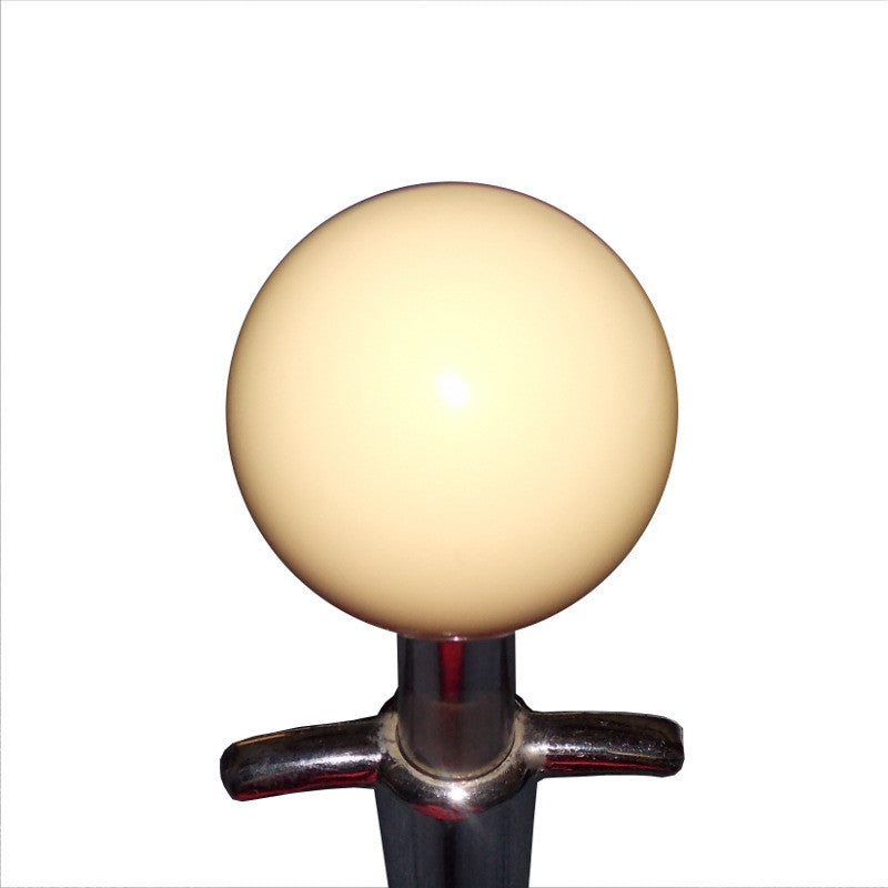 "1-7/8"" Ivory Muncie 4 Speed Shift Knob"
